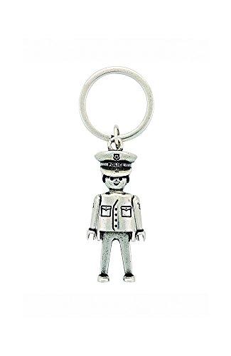 Llavero Playmobil Policía tamaño Grande (Producto Oficial):