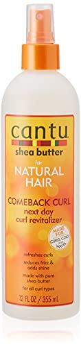 Cantu Shea Butter for Natural Hair Comeback Curl Next Day Curl Revitalizer 355 ml