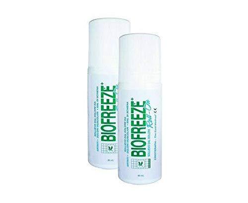 3 rollos de Biofreeze para aliviar el dolor, 89 ml.