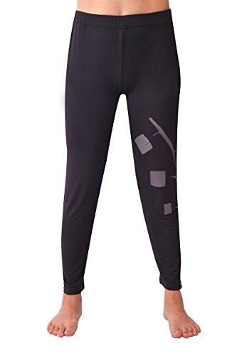 virblatt Leggings Bamboe yogaleggings dames yogabroek lang grijs zwart als yoga-kleding pilateskleding voor vrouwen – Vrksasana