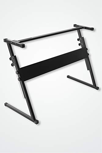 Keyboardständer Z-Form compact, Keyboard, Ständer, Stativ, stufenlos verstellbar