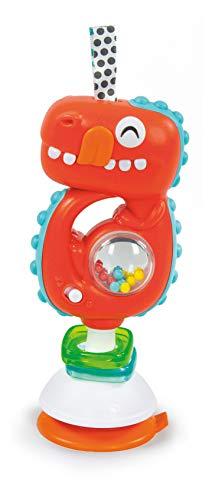 Baby Clementoni - 17330 - Sonaglino Dinosauro Interattivo - Gioco Prima Infanzia Con Melodie Ed Effetti Sonori (Batterie Incluse), Bambino 3 - 36 Mesi