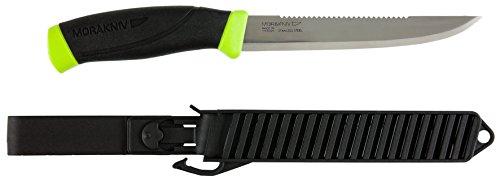 Morakniv Fishing Comfort Scaler 150 |11893| Anglermesser , Sandvik Klingenstahl , Fischmesser , Griff: TPE , mit Messerschutz scharfes Messer für Fieltieren,FisBhen, Outdoor
