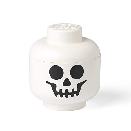 LEGO 40321728 Skelettkopf – Große Aufbewahrungsbox, weiß