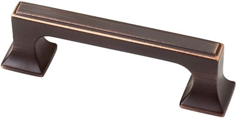 Southampton 3 Center Bar Pull Finish Bronze With Copper Highlights