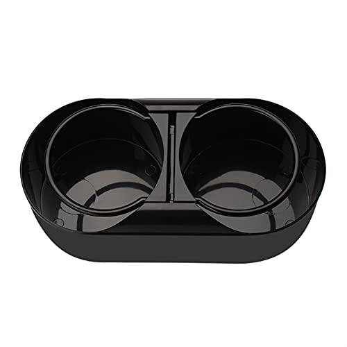 YKW Soporte de Taza de plástico ABS Nuevo Multifuncional Dual Agujero BRADABLE BOTBILLA DE Carro DE Carro Monte DE LA Bebida DE Agua Universal