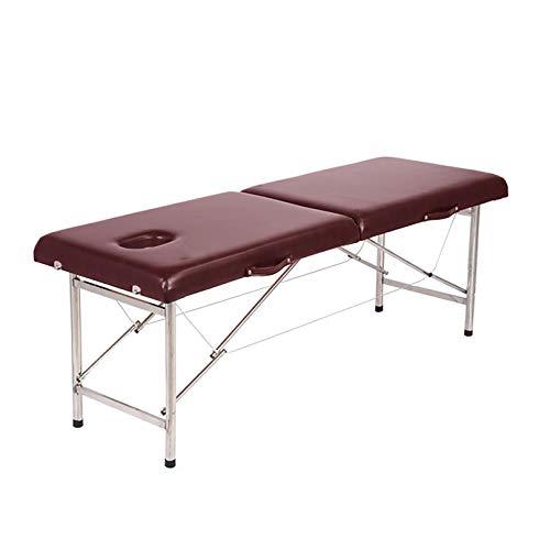 MGW Table de Massage lit de Spa Portable léger 2 Sections Largeur en Option pour impliquer dans la...