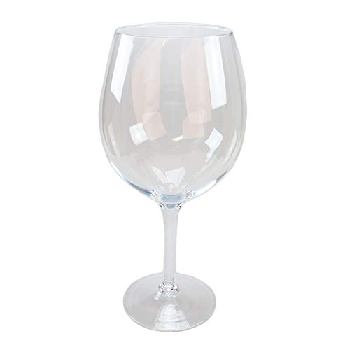 Glas Pokal/Bowleglas Catier Höhe 50cm Ø 17cm. Weinglas in XXL zur Dekoration in Klarglas von Glaskönig