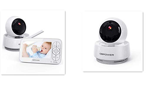 DBPOWER 720P Baby Monitor with Additional Camera