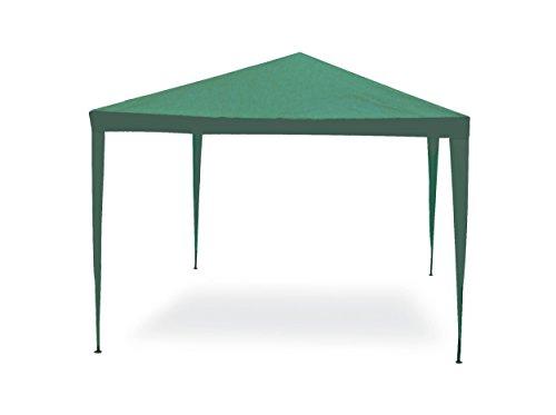 GARDEN FRIEND g1617005, Pavillon einfach grün 3x 4mt, 18x15x106 cm