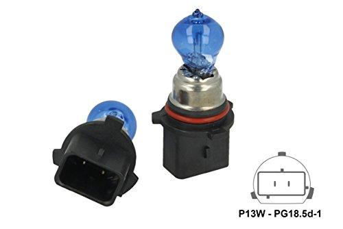 Carell LX1413 Lampe P13 W 12 V 13 W PG18.5d-1 Super White Xenon Effekt Weiß - 2 Stück