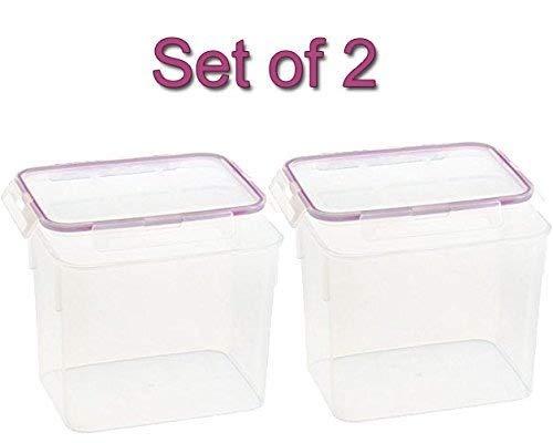 Snapware 1098422 17 Cup Medium Rectangle Storage Container Set of 2