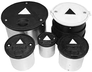 """EMCO WHEATON 567150 Lid, Ductile White for 8"""" Monitor Well MH Bolt Down, 8"""""""
