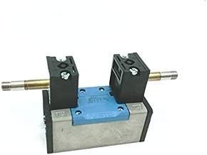 FESTO ELECTRIC JMFH-5/2-D-1-C Solenoid Valve, with Manual OVERRIDES, Without Solenoid COILS OR SOCKETS, Valve Function=5/2 BISTABLE, Width=42 MM, STD NOM Flow Rate=1200 L/MIN, OP Press=2-10 BAR