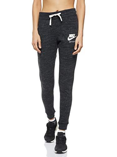 Nike NSW VNTG Pantalón, Mujer, Negro/Vela, M