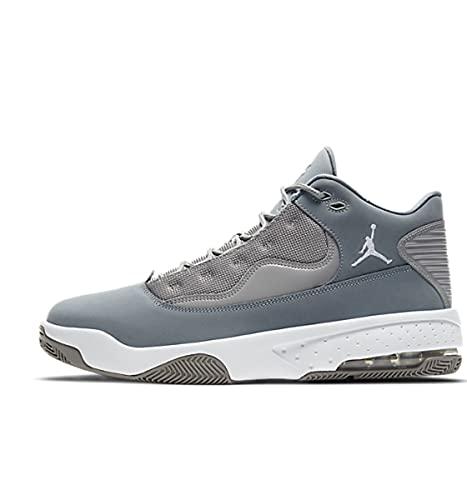 Nike Herren Jordan Max Aura 2 Basketballschuh, Medium Grey White Cool Grey, 43 EU