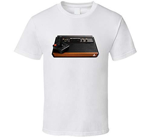 Atari 90s Retro Videojuego juguete regalo camiseta blanca