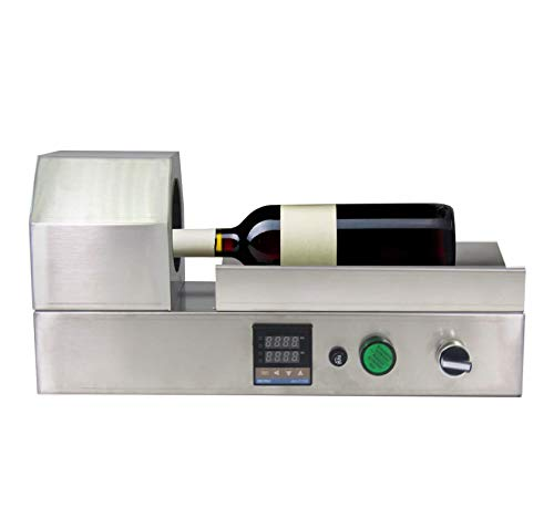 YJINGRUI 2000W Encapsuladora Termorretráctil para Botellas Selladora de Cápsula Eléctrica de Acero...