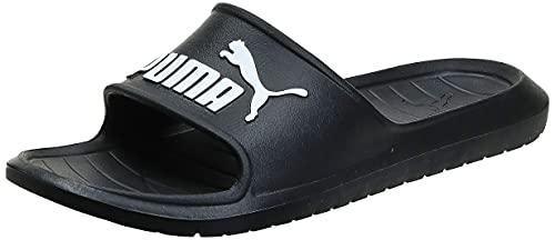 PUMA Divecat v2, Zapatos de Playa y Piscina Unisex Adulto Black White, 43 EU