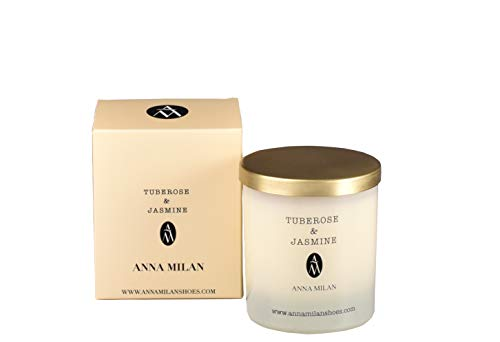 ANNA MILAN Vela Perfumada Tuberose & Jasmine Fabricado en España