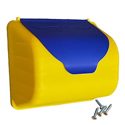 TikTakToo Kinder Briefkasten für Spielturm oder Spielhaus für die Kinderpost am Gartenhäuschen perfektes Zubeör für Kletterturm
