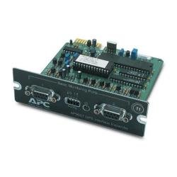 APC Interface Expander with 2 UPS Communication Cables SmartSlot Card Tarjeta y...