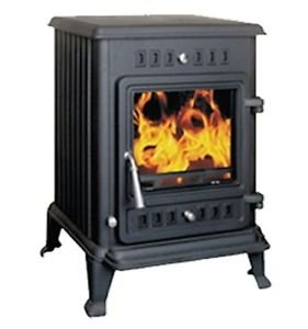 Joule 5 Multifuel Wood Burning Stove Fire 5kW