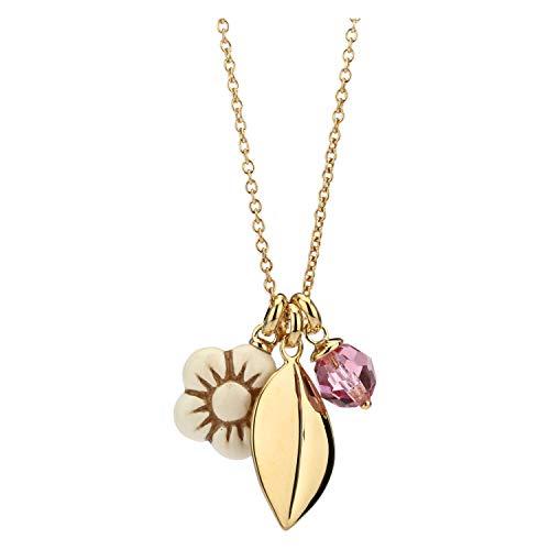 THUN ® - Collana Crystal Leaf