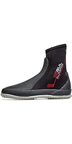 GUL Neopreno de Neopreno de Uso 5mm Zapatos - Negro - Unisex - BLINDSTITCHED : Construcción de Costura