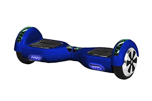 Robway W1 Hoverboard - Das Original - Samsung Marken Akku - Self Balance - 22 Farben - Bluetooth - 2 x 350 Watt Motoren - App - Led (Blau)