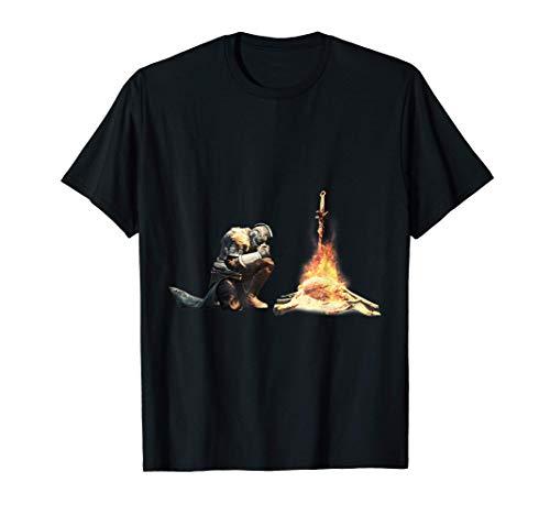 Dark Souls Bonfire Camiseta