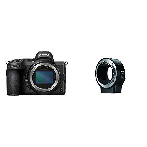 Nikon Z 5 Camera Body, Black with Nikon Mount Adapter FTZ