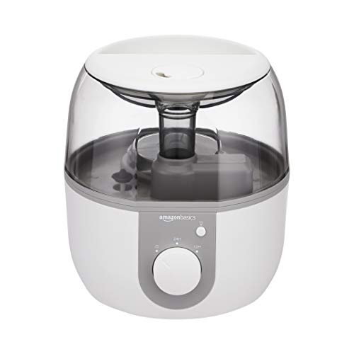 Amazon Basics Ultrasonic Cool Mist Humidifier with Essential Oil...
