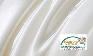 【プレミアムエコ600】エジプト超長綿ナチュラルな光沢が美しい高級ホテル仕様フラットシーツ(シングル)和洋兼用 シルクのような肌触り600スレッドカウント 150x250㎝ 安全安心のエコテックス認証付