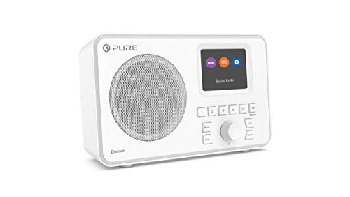 Pure ELAN-ONE FM/DAB+ Radio con Bluetooth - Bianco