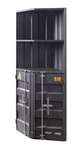 Acme Cargo Bookcase (Corner) in Gunmetal