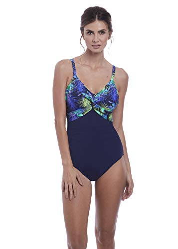 Fantasie Coconut Grove Shaping Underwire One-Piece, 40FF, Ink