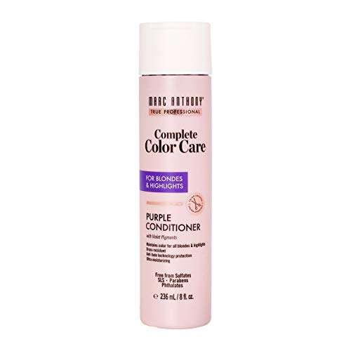 Marc Anthony Complete Color Care Purple Conditioner for Blondes & Highlights, 8 Ounces