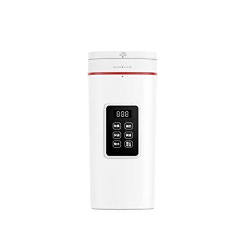 NVY Taza de Agua Caliente eléctrica, hervidor de Agua portátil de preservación automática del Calor en el hogar, Ventilador termostático Inteligente Multifuncional Taza de ebullición pequeña