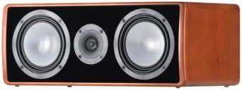 Canton Ergo 655 Center 2 5 Wege Bassreflex Center Kompaktlautsprecher 110 160 Watt Kirsch 1 Stück Audio Hifi