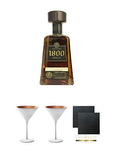 1800 Jose Cuervo Tequila Anejo 0,7 Liter + Geschenkset