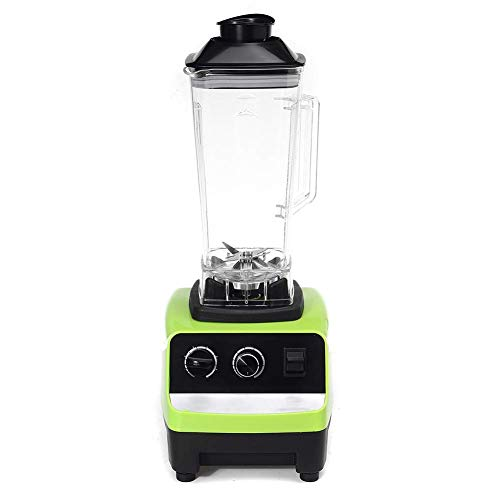 Electric Blender, Best Blenders for Smoothies 220V Smoothie Cup and Food Processor Attachment with Total Crushing Technology (Green) SZWHO