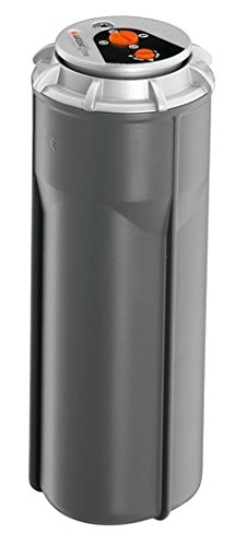 Gardena 8204-29 Sprinklersystem-Premium Turbinenregner T 200, Schwarz, 21,6x8,3x8,3 cm