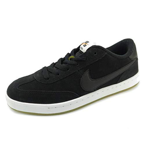 Nike SB FC Classic Hombre Trainers 909096 Sneakers Zapatos (UK 7 US 8 EU 41, Black White Vivid Orange 001)
