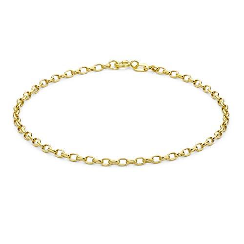 Carissima Gold Pulsera con Oro Amarillo de 9K para Mujer 19 cm