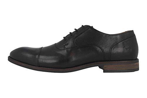 MUSTANG 4904-307-9 - Zapatos para Hombre (Tallas Grandes), Color Negro