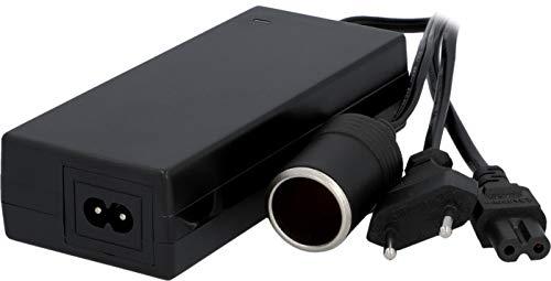 AEG Automotive 10698 Spannungswandler KA6 KFZ-Netzadapter Stromwandler Ladegerät 230V AC auf 12V/6A DC (max.72W) mit Zigarettenanzünderbüchse