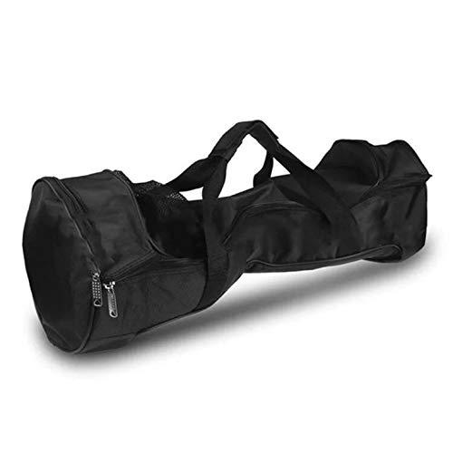 CNmuca Tecido Oxford impermeável, portátil, durável e portátil, bolsa de transporte para patinetes elétricas de duas rodas, carro com equilíbrio automático preto de 10 polegadas