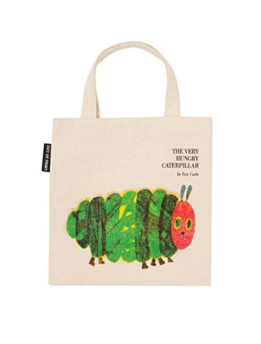 Out of Print World of Eric Carle, The Very Hungry Caterpillar Tote Bag 15 x 17 Inches