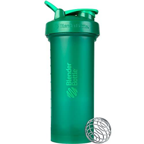 BlenderBottle Classic V2 Shaker Bottle, 45-Ounce, Emerald Green